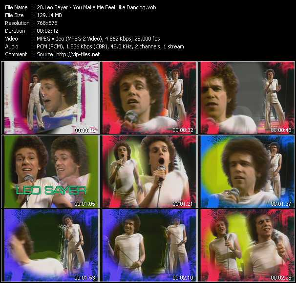 Leo Sayer - You Make Me Feel Like Dancing (From Musikladen)