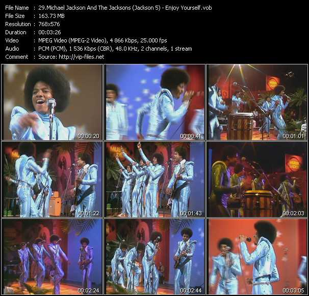 Michael Jackson And The Jacksons (Jackson 5) - Enjoy Yourself (From Musikladen)