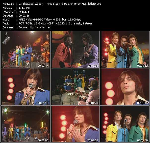 Showaddywaddy - Three Steps To Heaven (From Musikladen)