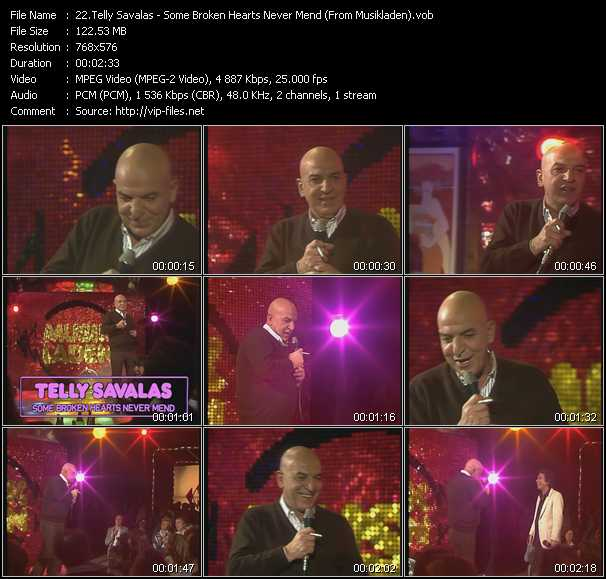 Telly Savalas - Some Broken Hearts Never Mend (From Musikladen)