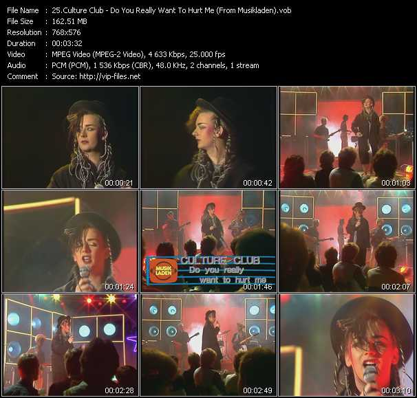 Culture Club - Do You Really Want To Hurt Me (From Musikladen)