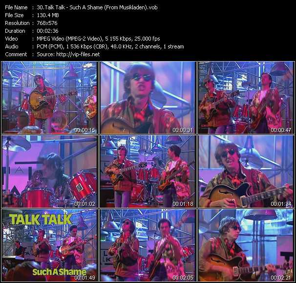 Talk Talk - Such A Shame (From Musikladen)