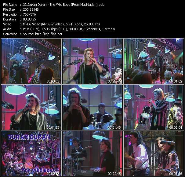 Duran Duran - The Wild Boys (From Musikladen)
