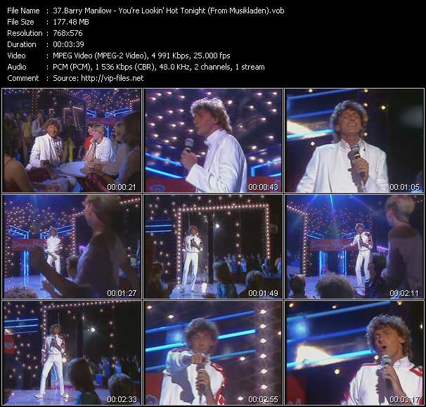 Barry Manilow - You're Lookin' Hot Tonight (From Musikladen)