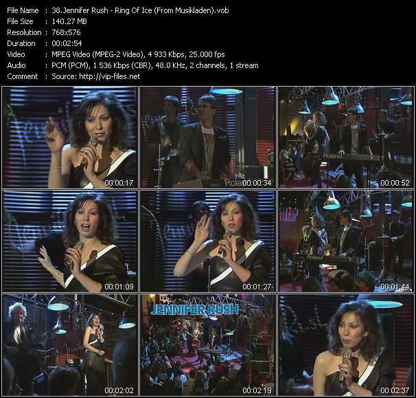 Jennifer Rush - Ring Of Ice (From Musikladen)