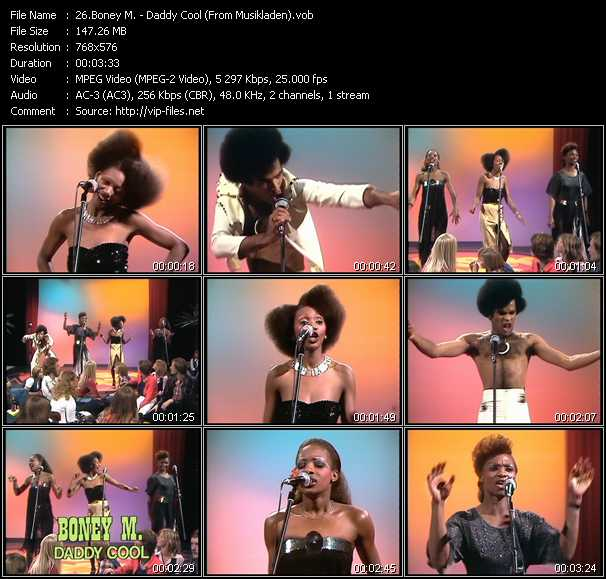 Boney M. - Daddy Cool (From Musikladen)