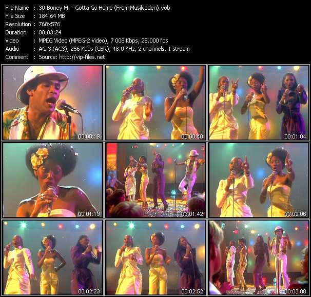 Boney M. - Gotta Go Home (From Musikladen)