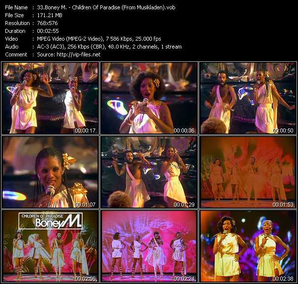 Boney M. - Children Of Paradise (From Musikladen)