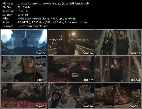 Nicky Romero Vs. Krewella - Legacy (Extended Version)
