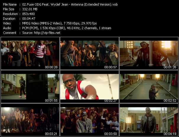 Fuse ODG Feat. Wyclef Jean - Antenna (Extended Version)