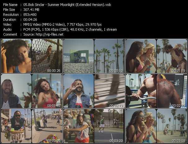 Bob Sinclar - Summer Moonlight (Extended Version)