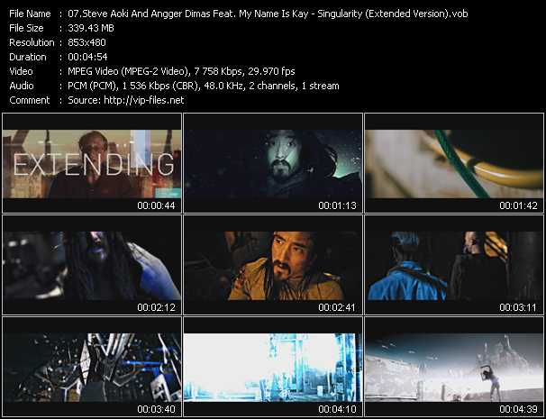 Steve Aoki And Angger Dimas Feat. My Name Is Kay - Singularity (Extended Version)