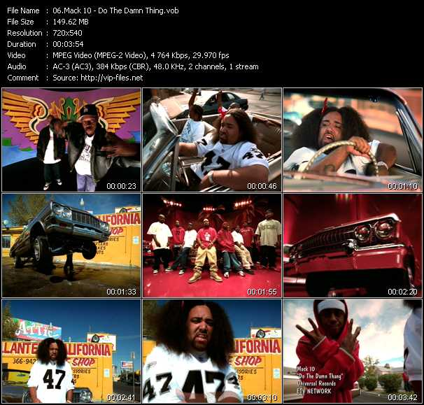 Mack 10 - Do The Damn Thing