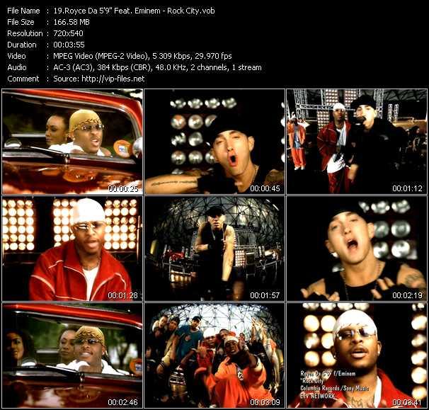 Royce Da 5'9'' Feat. Eminem - Rock City