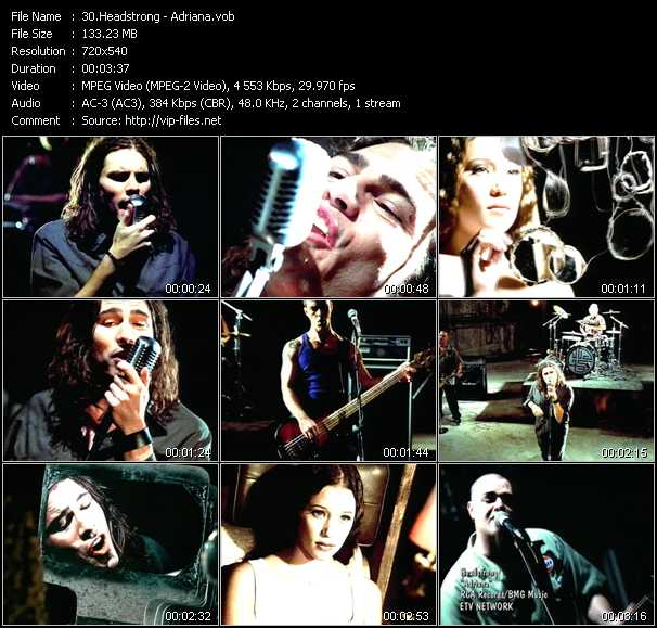 Headstrong - Adriana