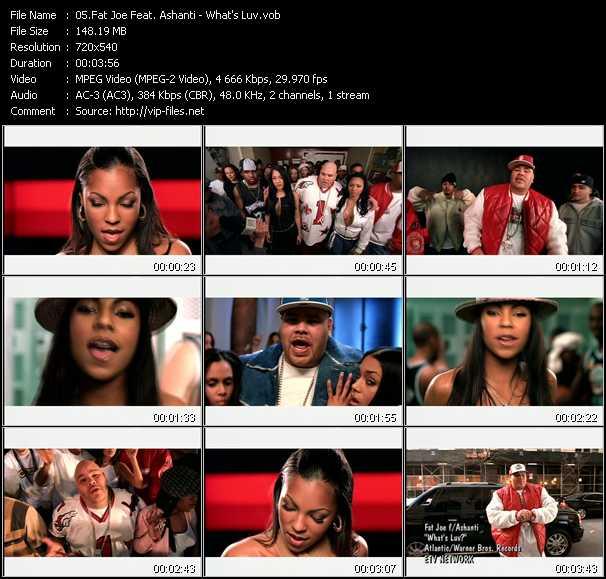 Fat Joe Feat. Ashanti - What's Luv?
