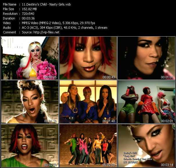 Destiny's Child - Nasty Girls