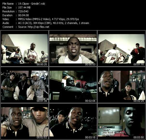 Clipse - Grindin'