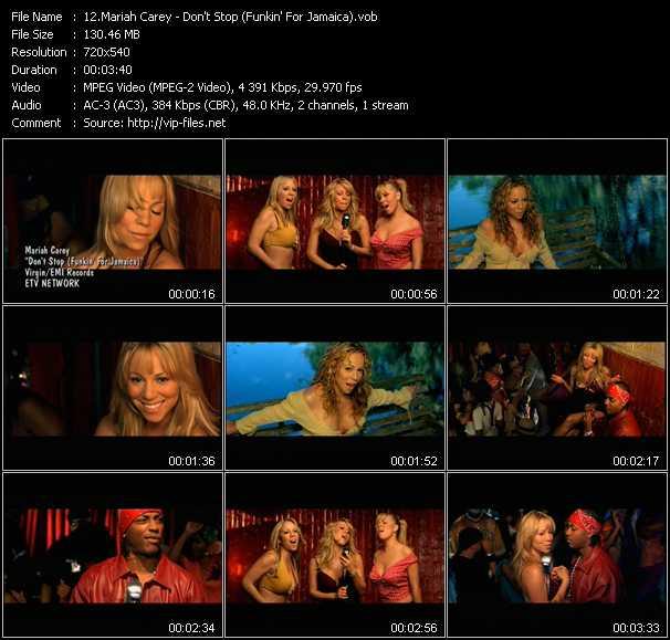 Mariah Carey - Don't Stop (Funkin' For Jamaica)