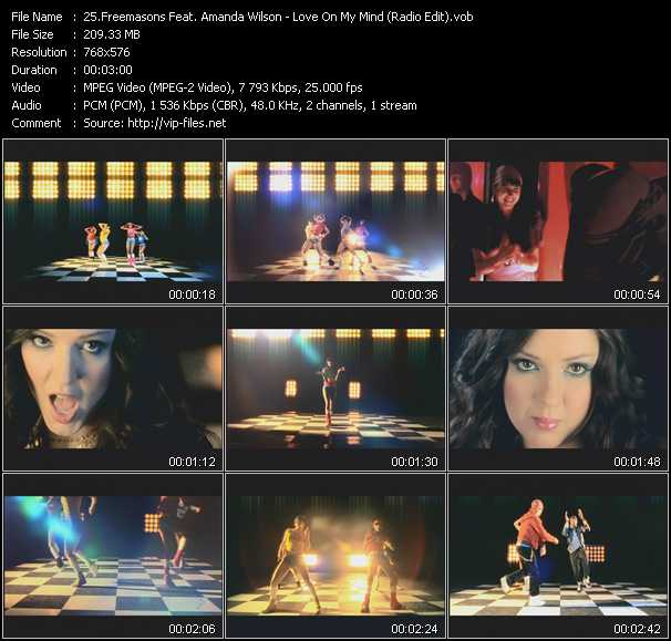Freemasons Feat. Amanda Wilson - Love On My Mind (Radio Edit)