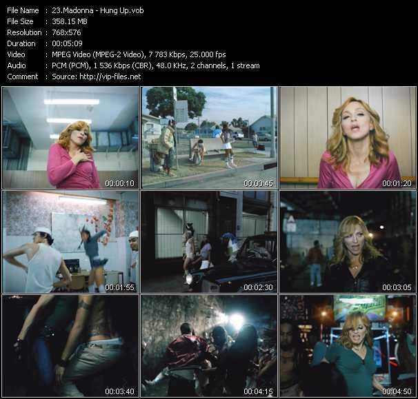 Madonna - Hung Up