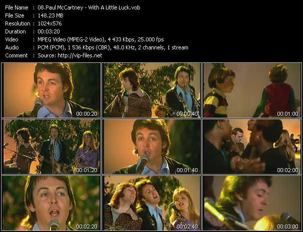 Paul McCartney - With A Little Luck