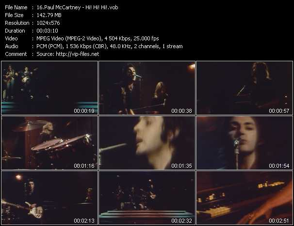 Paul McCartney - Hi! Hi! Hi!