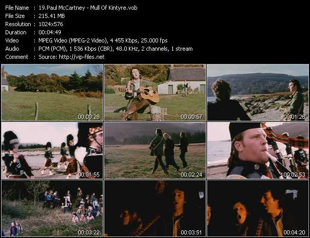 Paul McCartney - Mull Of Kintyre