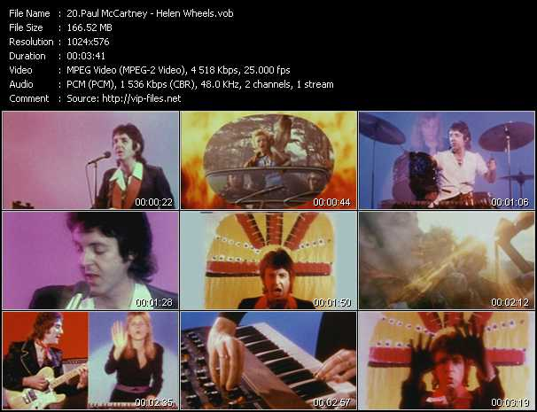 Paul McCartney - Helen Wheels