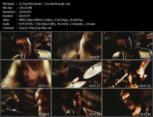 Paul McCartney - I've Had Enough