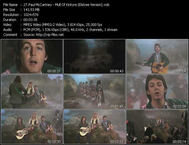 Paul McCartney - Mull Of Kintyre (Elstree Version)
