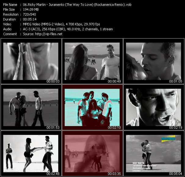 Ricky Martin - Juramento (The Way To Love) (Rockamerica Remix)
