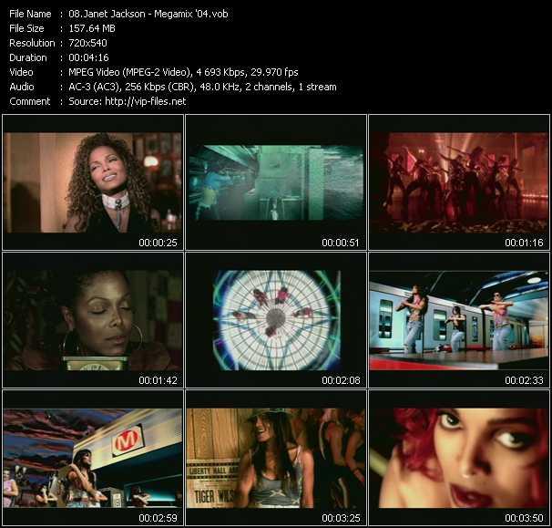 Janet Jackson - Megamix '04