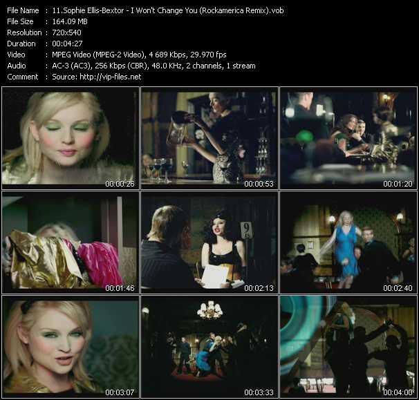 Sophie Ellis-Bextor - I Won't Change You (Rockamerica Remix)