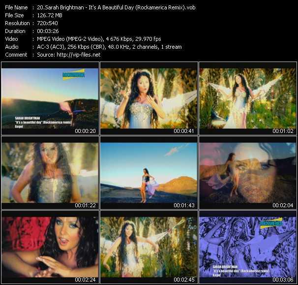 Sarah Brightman - It's A Beautiful Day (Rockamerica Remix)
