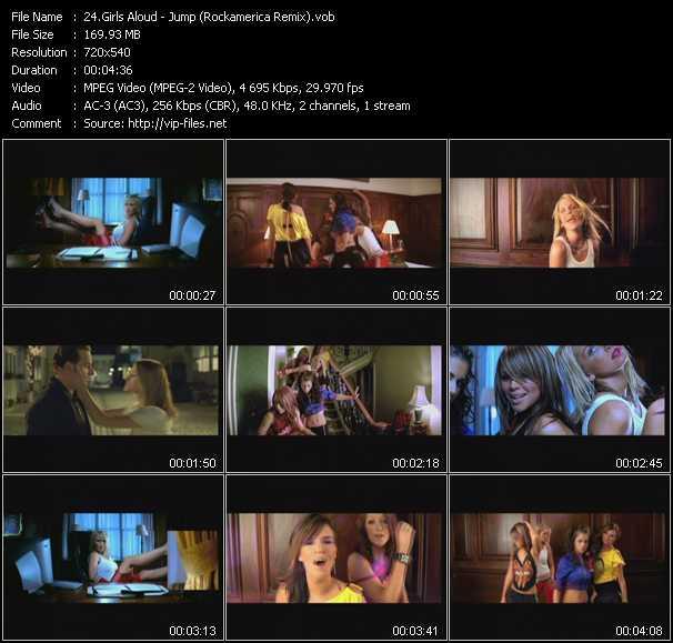Girls Aloud - Jump (Rockamerica Remix)