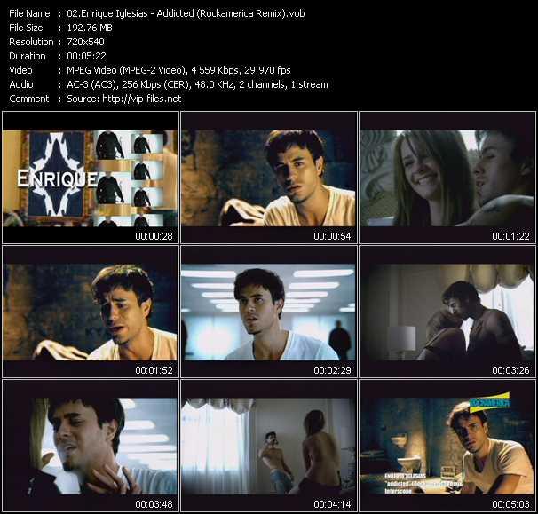 Enrique Iglesias - Addicted (Rockamerica Remix)