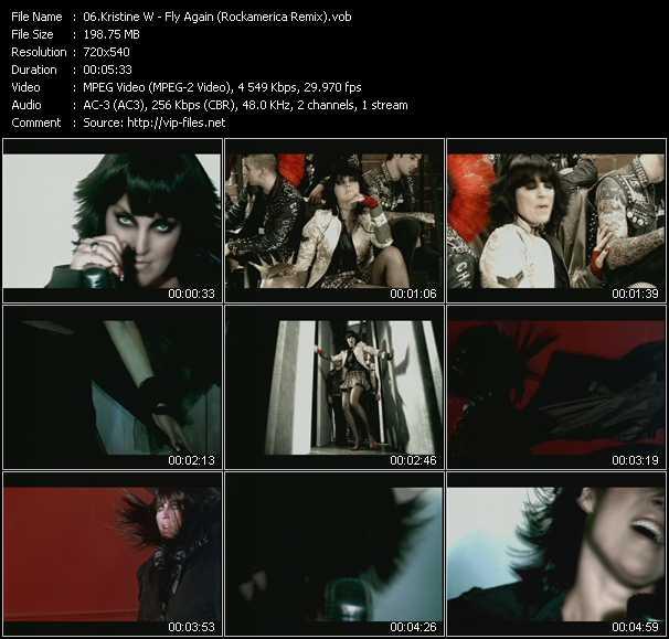 Kristine W - Fly Again (Rockamerica Remix)