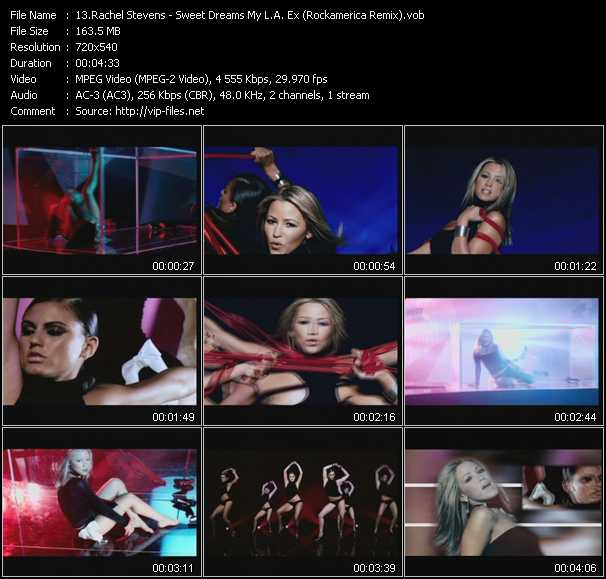Rachel Stevens - Sweet Dreams My L.A. Ex (Rockamerica Remix)