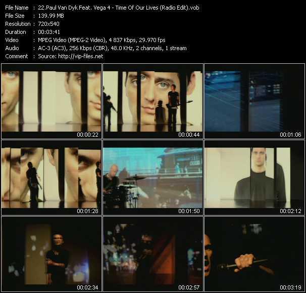 Paul Van Dyk Feat. Vega 4 - Time Of Our Lives (Radio Edit)