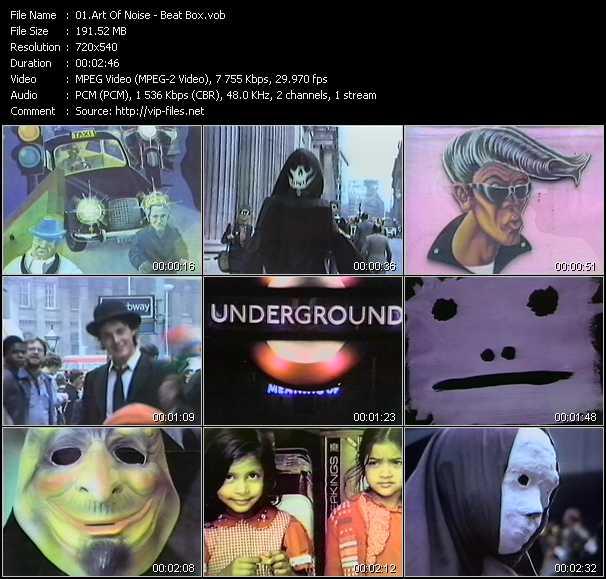 Art Of Noise - Beat Box