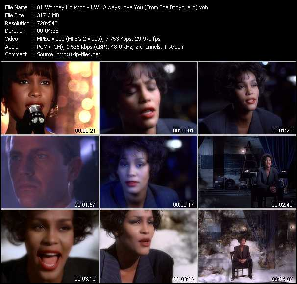 Whitney Houston - I Will Always Love You (From The Bodyguard)