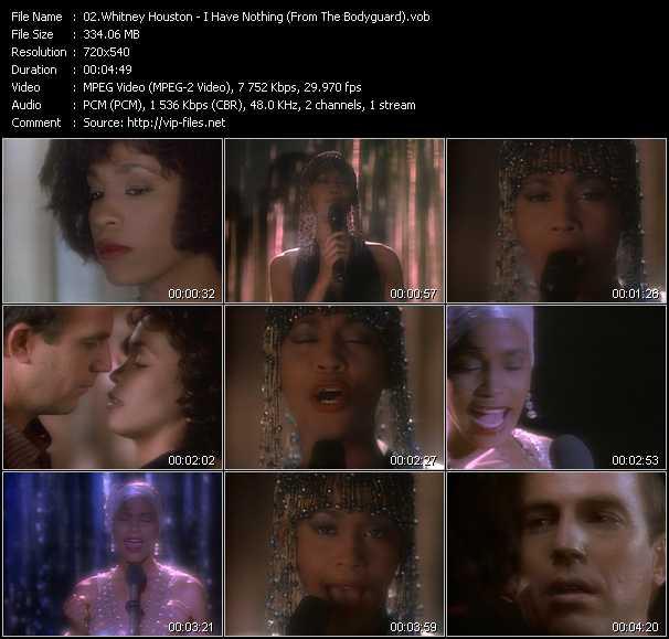 Whitney Houston - I Have Nothing (From The Bodyguard)