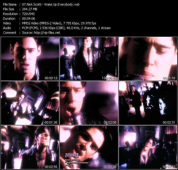 Nick Scotti - Wake Up Everybody
