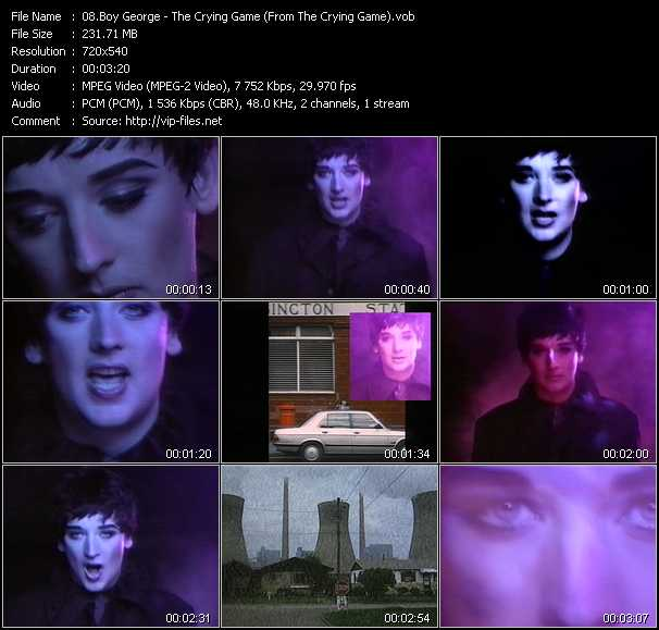 Boy George - The Crying Game (From The Crying Game)