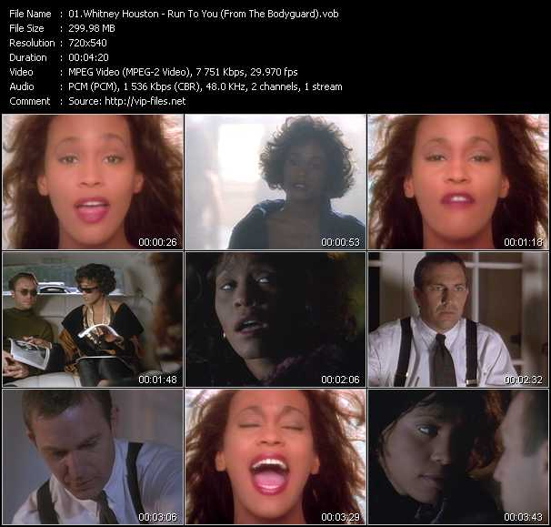 Whitney Houston - Run To You (From The Bodyguard)