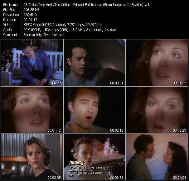 Celine Dion And Clive Griffin - When I Fall In Love (From Sleepless In Seattle)