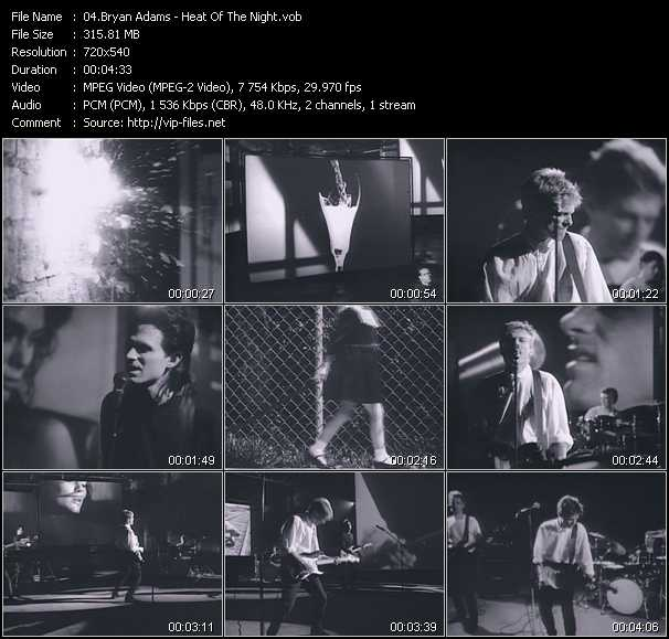 B. Adams - Heat Of The Night