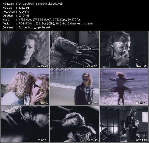 Daryl Hall - Someone Like You