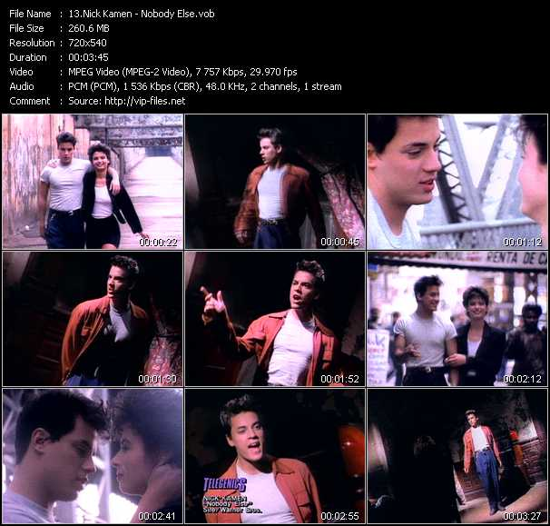Nick Kamen - Nobody Else